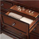 Homelegance Cumberland  Transitional 7 Drawer Dresser