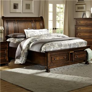 Homelegance Cumberland  King Storage Bed