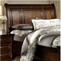 Homelegance Cumberland  Transitional King/California King Sleigh Headboard - Headboard Shown May Nor Represent Exact Size Indicated