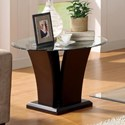 Homelegance Daisy End Table - Item Number: 710-04