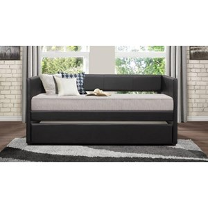 Homelegance Daybeds Adra Daybed w/ Trundle