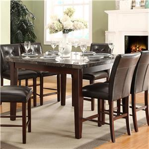 Homelegance Decatur Counter Height Dining Table