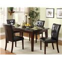 Homelegance Decatur 5 Piece Dining Set - Item Number: 2456-64+4xS