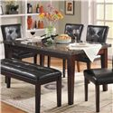 Homelegance Decatur Dining Table - Item Number: 2456-64