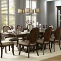 Homelegance Delavan Dining Table - Item Number: 5251-108+108B