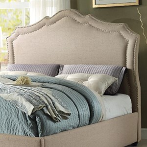 Homelegance Delphine Transitional Full Upholstered Headboard