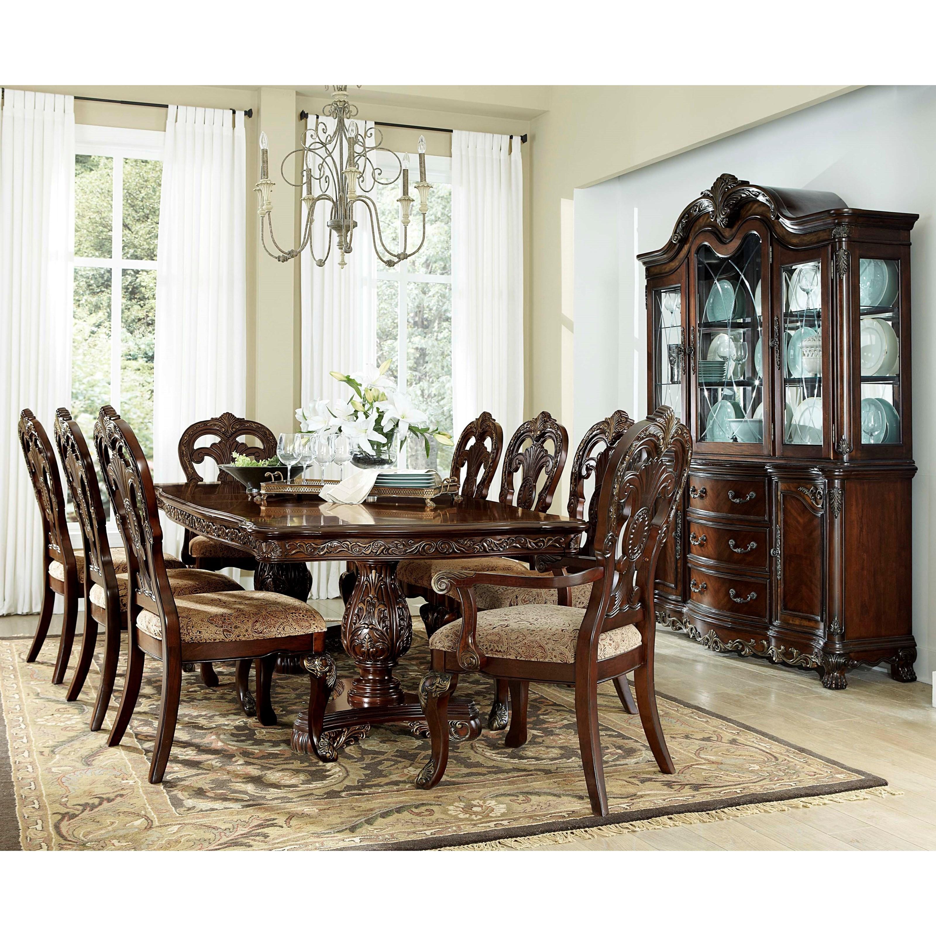 Formal Dining Room Furniture: Homelegance Deryn Park Formal Dining Room Group