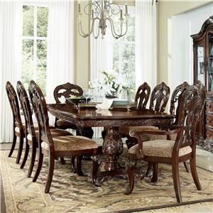 Homelegance Deryn Park 7 Piece Table and Chair Set