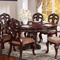 Homelegance Deryn Park Dining Table - Item Number: 2243-76+76B