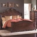Homelegance Deryn Park Queen Sleigh Bed - Item Number: 2243SL-1+2+3