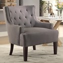 Homelegance Dulce Accent Chair - Item Number: 1233GY