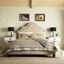 Homelegance E377 Beige Queen Upholstered Bed - Item Number: E377B922W3A-HB+315BQ-3BL3A-HB