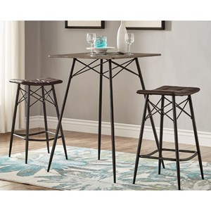 Homelegance E58236 Counter Height Dining Set