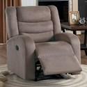 Homelegance Earl Reclining Chair - Item Number: 8205BR-1