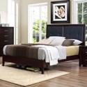 Homelegance Edina Queen Panel Bed - Item Number: 2145-1+2+3