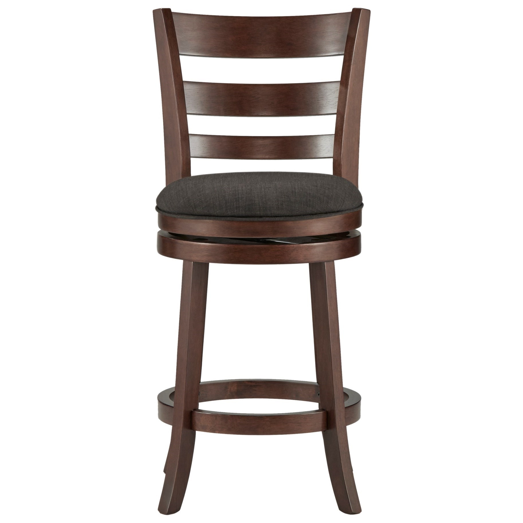 Homelegance Edmond Counter Height Swivel Stool - Item Number: 1144E-24DGL