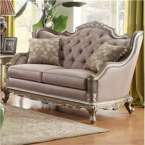 Homelegance Fiorella Love Seat