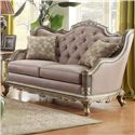 Homelegance Fiorella Love Seat - Item Number: 8412-2