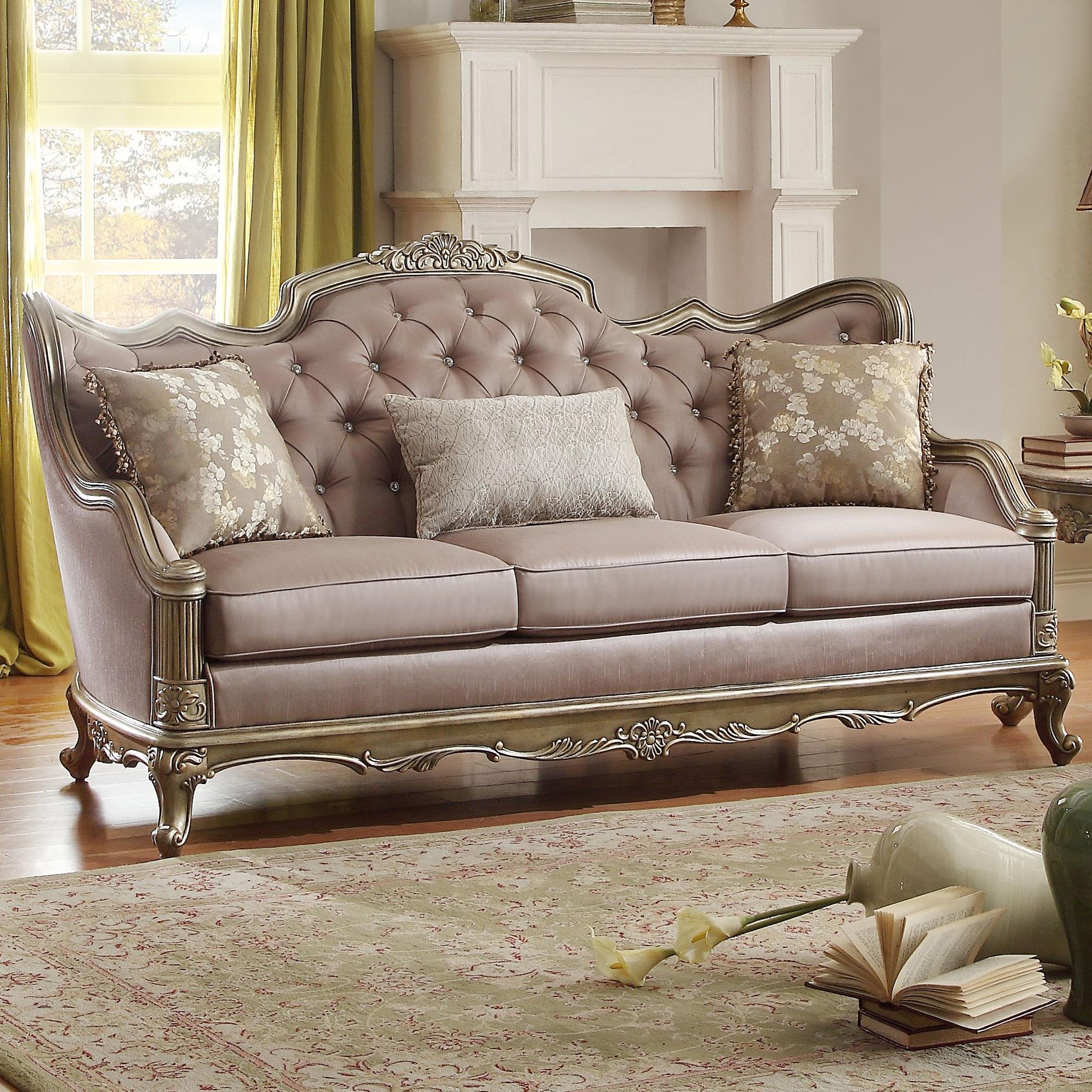 Homelegance Fiorella Sofa - Item Number: 8412-3