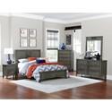 Homelegance Garcia Twin Bedroom Group - Item Number: 2046 T Bedroom Group 1