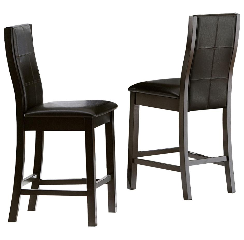 Homelegance Sherman Counter Height Chairs - Item Number: 5375-24