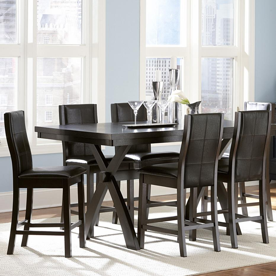 Homelegance Sherman 7 Piece Table & Chair Set - Item Number: 5375-36+3x24