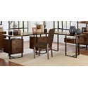 Homelegance Sedley L Shape Desk - Item Number: 5415RF-15+16