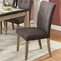 Homelegance Huron Contemporary Dining Side Chair - Item Number: 5285S