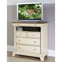 Homelegance Inglewood Cottage TV Chest - Item Number: 1402W-11