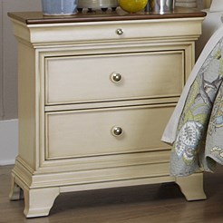 Homelegance Inglewood Cottage 2-Drawer Nightstand - Item Number: 1402W-4
