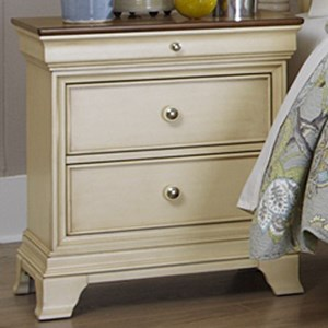 Homelegance Inglewood Cottage 2-Drawer Nightstand