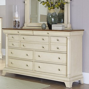 Homelegance Inglewood Cottage 9-Drawer Dresser