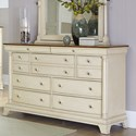 Homelegance Inglewood Cottage 9-Drawer Dresser - Item Number: 1402W-5
