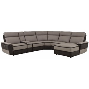 Homelegance Laertes Contemporary Power Reclining Sectional  sc 1 st  Darvin Furniture & Reclining Sectional Sofas | Orland Park Chicago IL Reclining ... islam-shia.org