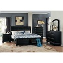 Homelegance Laurelin Queen Bedroom Group - Item Number: 1714BK Bedroom Group 1