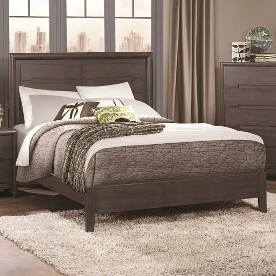 Homelegance Lavinia Contemporary Queen Headboard and Footboard - Item Number: 1806-1+2+3