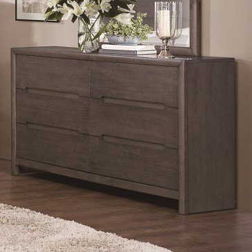 Homelegance Lavinia Contemporary 6-Drawer Dresser - Item Number: 1806-5
