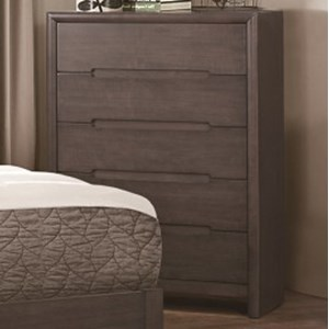 Homelegance Lavinia Contemporary 5-Drawer Chest
