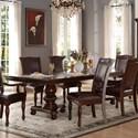 Homelegance Lordsburg Double Pedestal Dining Table - Item Number: 5473-103+103B