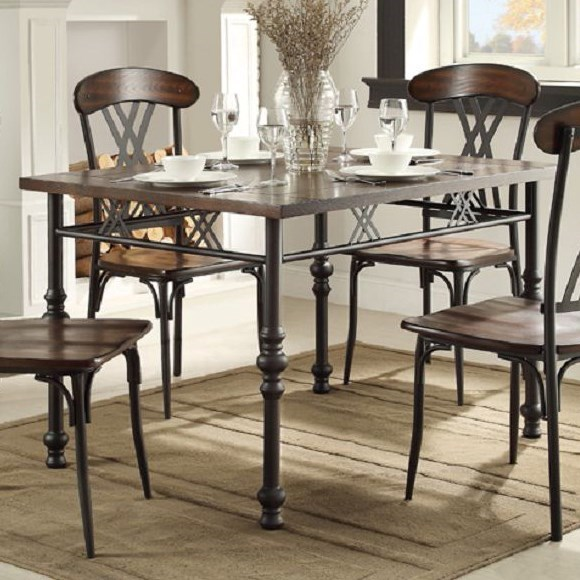 Homelegance Loyalton Transitional Kitchen Table with  : products2Fhomelegance2Fcolor2Floyalton20 2054195149 482B48b b1 from www.hudsonsfurniture.com size 580 x 580 jpeg 87kB