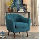 Homelegance Lucille Accent Chair - Item Number: 1192BL