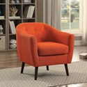 Homelegance Lucille Accent Chair - Item Number: 1192RN