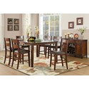 Homelegance Mantello Dining Room Group - Item Number: 5547 Dining Room Group 4