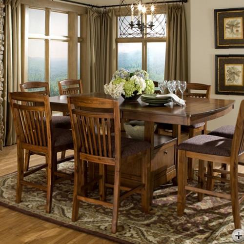 Homelegance Marcel Counter Height Table - Item Number: 2489-36XL
