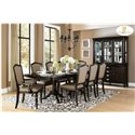 Homelegance Marston Dining Side Chair w/ Upholstered Seat and Back Panel