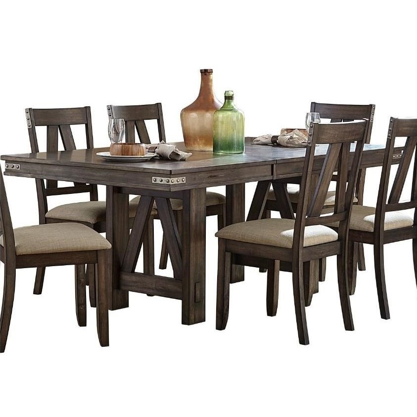 Mattawa Dining Table by Homelegance at Beck's Furniture