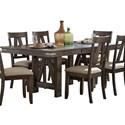 Homelegance Mattawa Dining Table - Item Number: 5518-78+78B