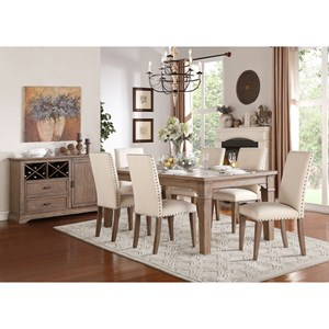 Homelegance Mill Valley Dining Room Group