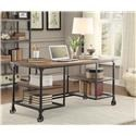 Homelegance Millwood Weathered Wood Writing Desk - Item Number: 5099-15