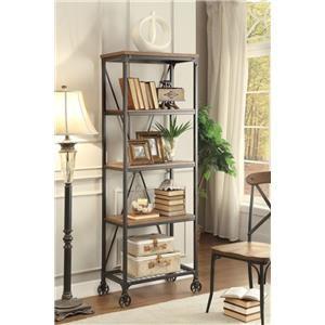 "Homelegance Millwood 26"" W Bookshelf"